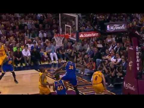 Festus Ezeli Swats Dellavedova Into the Stands