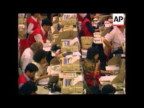 Hong Kong - Hong Stock Market crashes