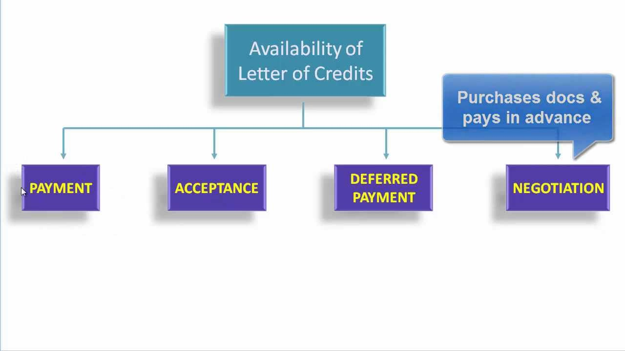 Letter Of Credit Tutorial
