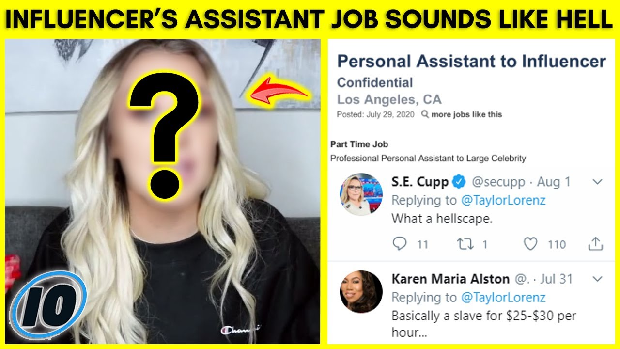 Influencer Assistant Job Posting Goes Viral For All The Wrong Reasons