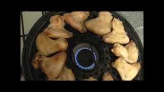 Рецепт Вкусные по домашнему куриные крылышки на сковороде-гриль