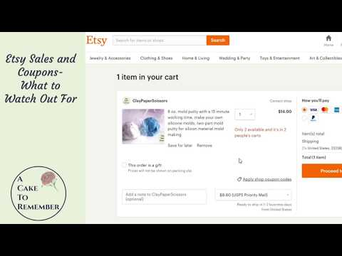 Etsy coupons and what to watch out for! Etsy tutorials and tips.