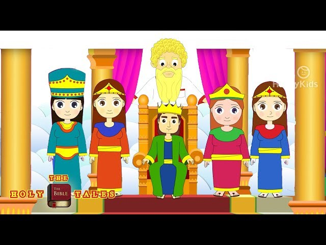 Solomon Turns Away From God - Bible Stories For Children