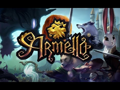 Streamlined Armello - River Gameplay!! Aka Losing as River!!