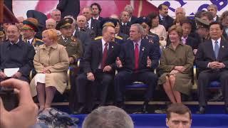 Парад Победы на Красной площади 9 мая 2005 года (HD 1080p)