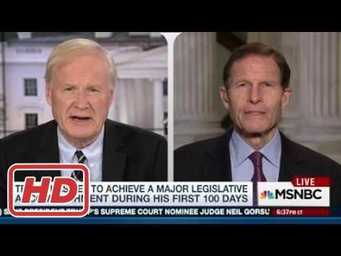 Sen Blumenthal: Still hope Gorsuch won't be nominated - 4/5/17[HD]