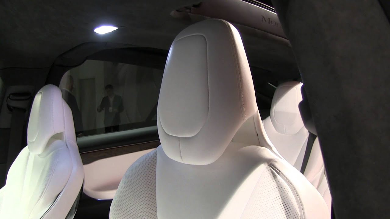 Model X Automatic Adjustable Headrests Youtube