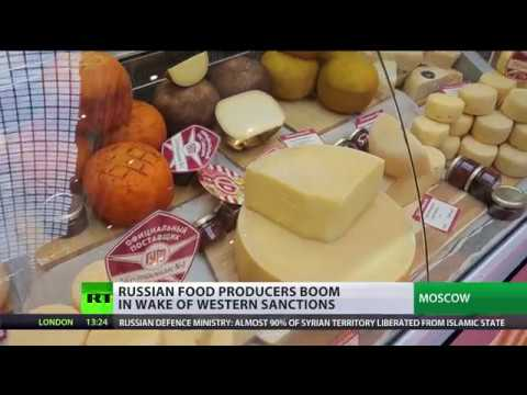 '100% natural & no chemicals': Russian food producers boom in wake of Western sanctions