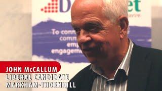 Why Muslims Should Vote Liberal: John McCallum