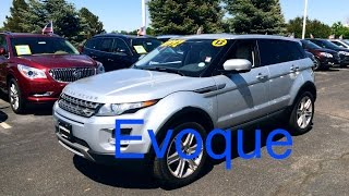2013 Range Rover Evoque (Start Up, In Depth Tour, and Review)
