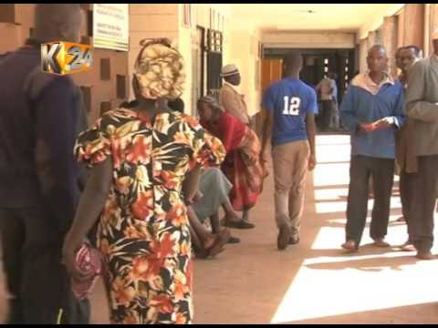 What caused the row between health workers and government?