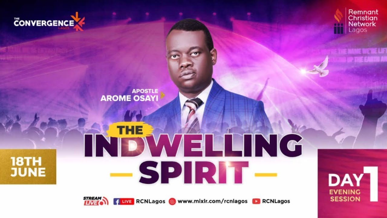 Download THE ECONOMY OF THE MINGLED SPIRIT || APOSTLE AROME OSAYI || CONVERGENCE DAY 1||18TH JUNE 2021