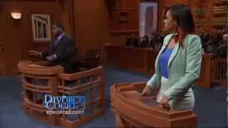 ZAIRE CLOWNIN' ON DIVORCE COURT ...  Evans vs  Girard