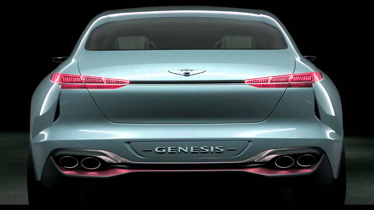 2016 Hyundai Genesis Coupe >> 제네시스 2016 뉴욕 모터쇼 참가 콘셉트카, '뉴욕 콘셉트' 디자인 (Genesis New York Concept Design) - YouTube