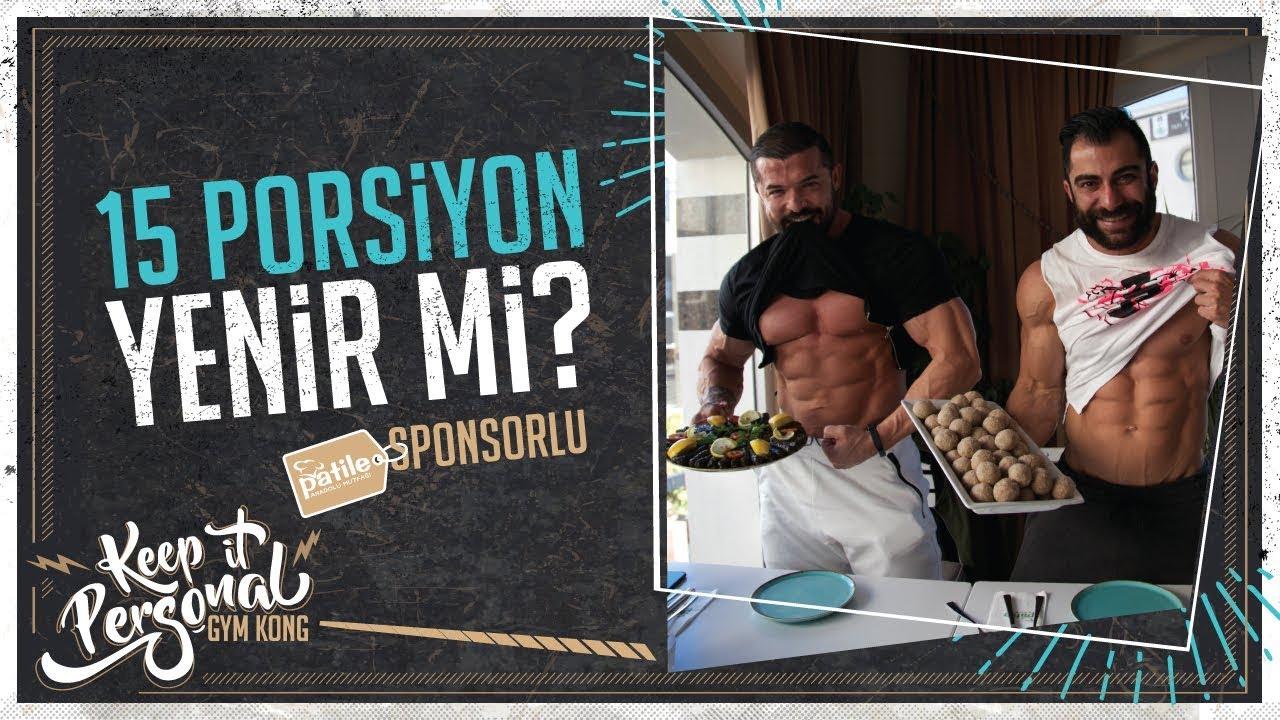 CHALLENGE | 15 Porsiyon Yemek Yedik, Yetmedi!