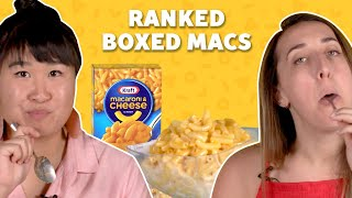 We Ranked Every Boxed Mac and Cheese   TASTE TEST