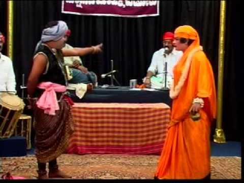 Yakshagana-panchamaveda sanyasini hasya sannivesh bijamukki