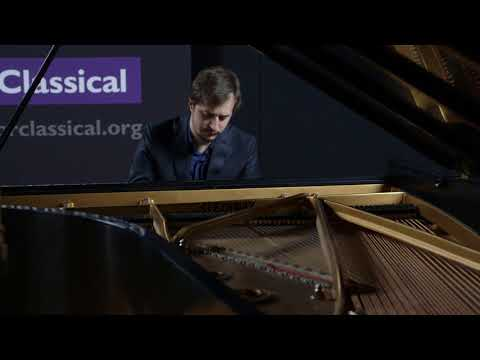Kenny Broberg performs Claude Debussy's Golliwog's Cake walk at CPR's OpenAir Classical