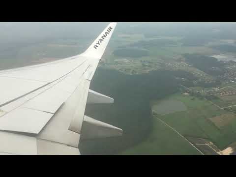 Departing Riga airport and Landing at Stansted Airport (19/08/17)
