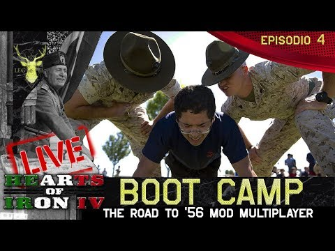 Hearts of iron IV  Boot Camp Road to '56  Episodio 4