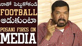 Download lagu Posani Krishna Murali Fires On Media and Chandrababu Naidu Posani Press Meet Manastars MP3