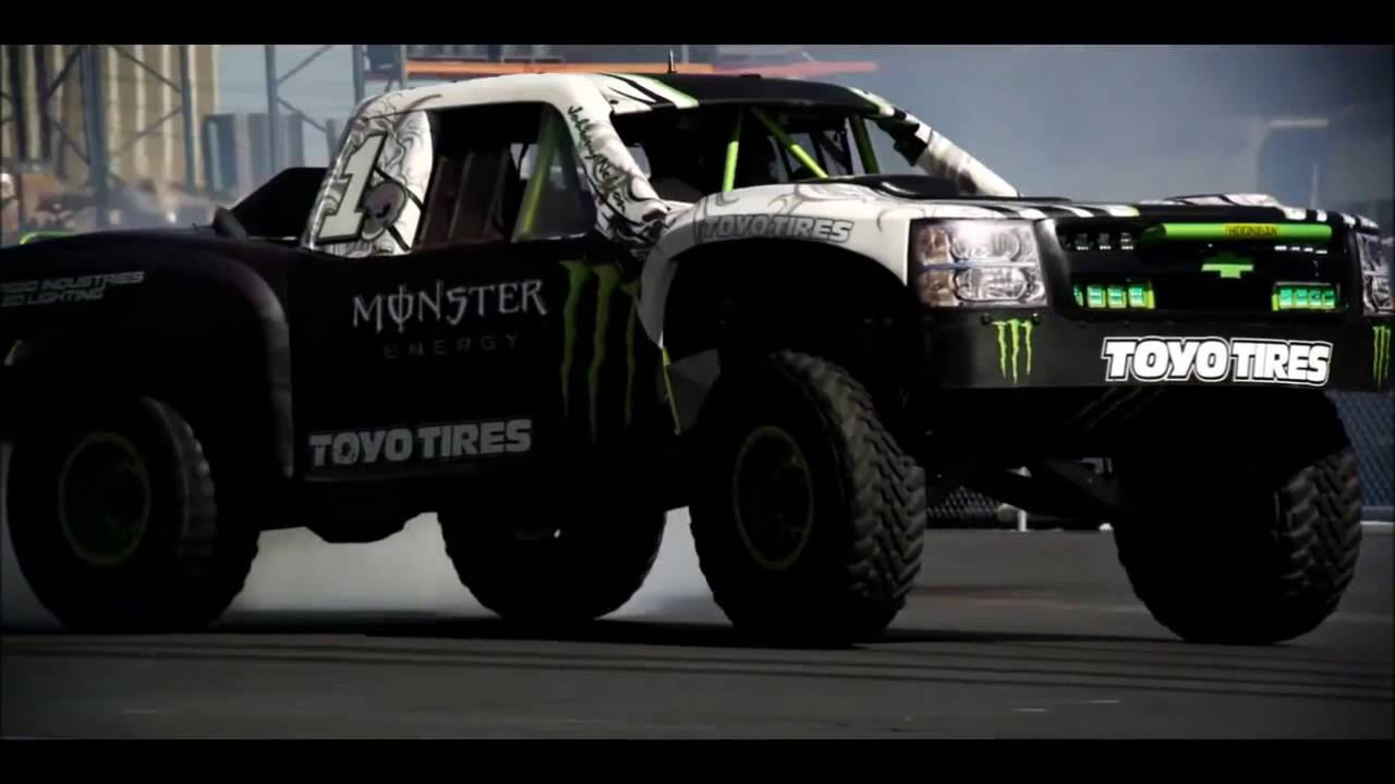 The Best Drift Monster Energy Ken Block And Bj Baldwind Youtube