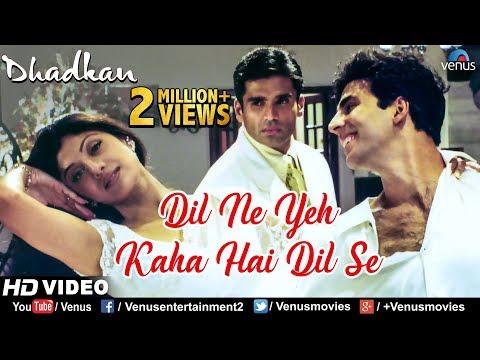 Dil Ne Yeh Kaha Hain Dil Se -HD VIDEO SONG   Alka Yagnik \u0026 Sonu Nigam  Dhadkan  Hindi Romantic Song