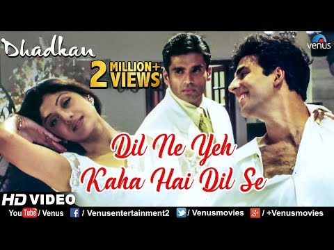Dil Ne Yeh Kaha Hain Dil Se -HD VIDEO SONG | Alka Yagnik & Sonu Nigam |Dhadkan |Hindi Romantic Song