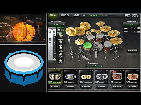 How To Get a Perfect Metal Drum Sound & FREE Drum Libraries mp3