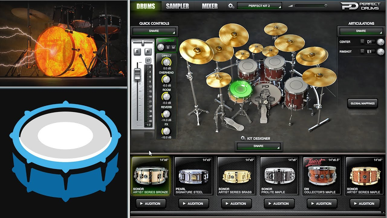 electronic drum software for pc free download