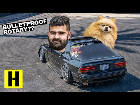 460whp Bulletproof Rotary? Daily Drifter FC RX-7 Gets Thrashed on