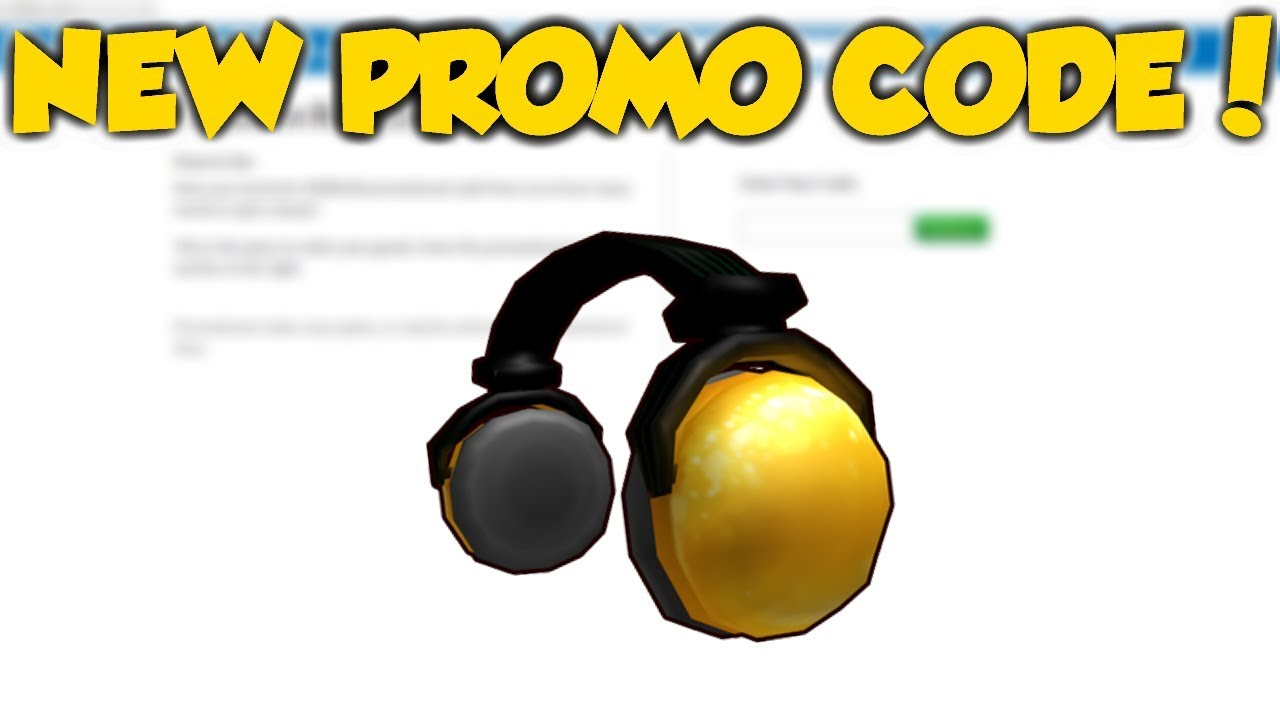 Roblox How To Get The 24k Gold Headphones New Promo Code