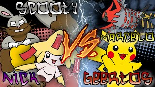 Pokémon X and Y Free-For-All w/ Marcelo, NickTheNinja and Geertos! Thumbnail