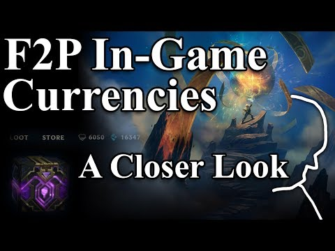The Value of Free Currencies in Free-to-play Games - League of Legends' new System - A Closer Look