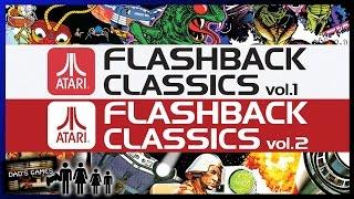 ATARI FLASHBACK CLASSICS Vol. 1 & Vol. 2   Game Review!!   Dad
