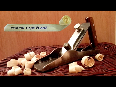Thumbnail: Make a solid steel hand plane