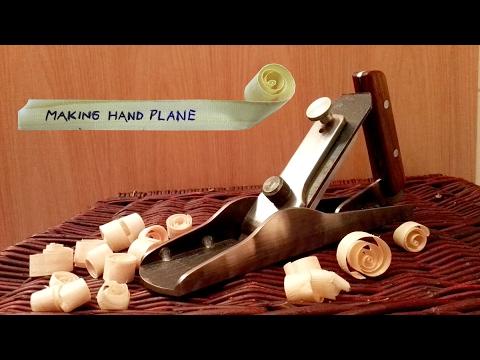 Make a solid steel hand plane
