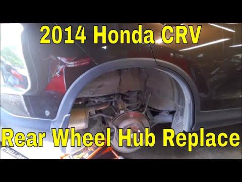 2014 Honda CRV Rear Wheel Hub Replacement