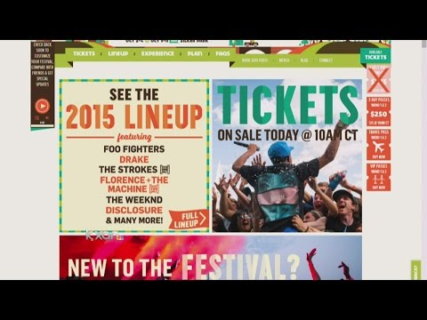 ACL Music Festival lineup