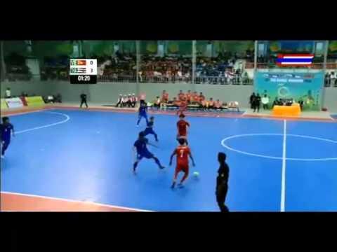 2013 ซีเ�มส์ ครั้งที่ 27 ฟุตซอลชาย ชิงชนะเลิศ ไทย VS เวียดนาม