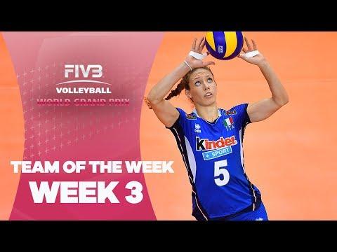 Dream Team Week 3 - FIVB World Grand Prix