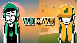 Incredibox V3 + V5 - Sunrise + Brazil Comparison