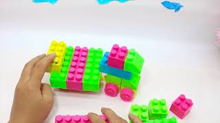 Barbie dolls assembling lego toys Car And Go Out With Friends