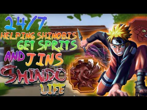 [1B VISITS] Shindo Life Helping Subs Get Jins/Scrolls! 24/7 Live