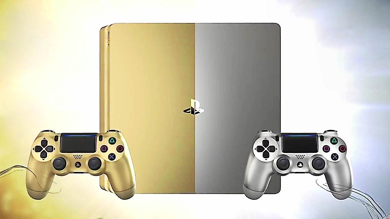 New Ps4 Consoles Gold And Silver Unboxing Youtube