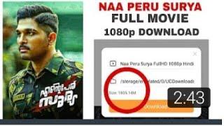 How To Download Naa Peru Surya 1080p || Movie 100% Guranted To Use My way || J.A Tutor