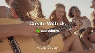 Audioblocks.com Review & Tutorial - #Creator2Creator | royalty free stock music royalty-free loops