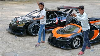 NERF GUN CAR RC CONTROL BATTLE  4