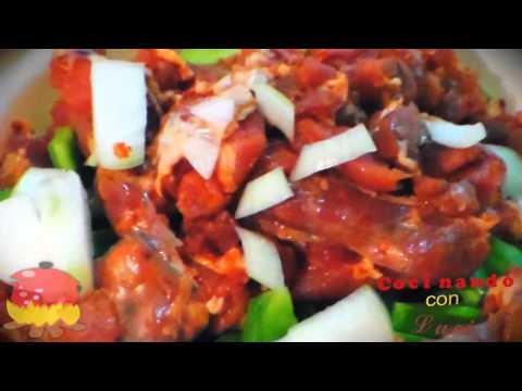 Como cocinar unos deliciosos nopales con longaniza youtube for Cocinar nopal