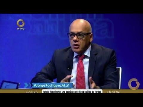 Jorge Rodríguez: Depende de Trump que los venezolanos puedan votar en EEUU (2/4)